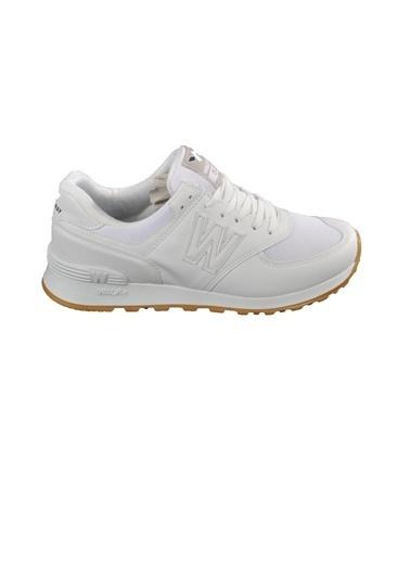 Walkway 523 Füme-Siyah Erkek Spor Ayakkabı Beyaz